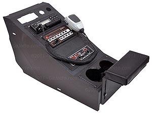 425-6193 Jotto Desk Radio / Equipment Console, Ford Police Interceptor