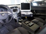 Chev Caprice Police Equipment Console