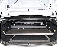 Dodge Charger Police Equipment Trunk Tray
