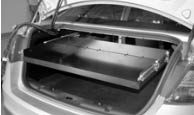 Police Interceptor Sedan Equipment Trunk Tray