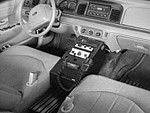 Ford Crown Victoria  Police Equipment Console